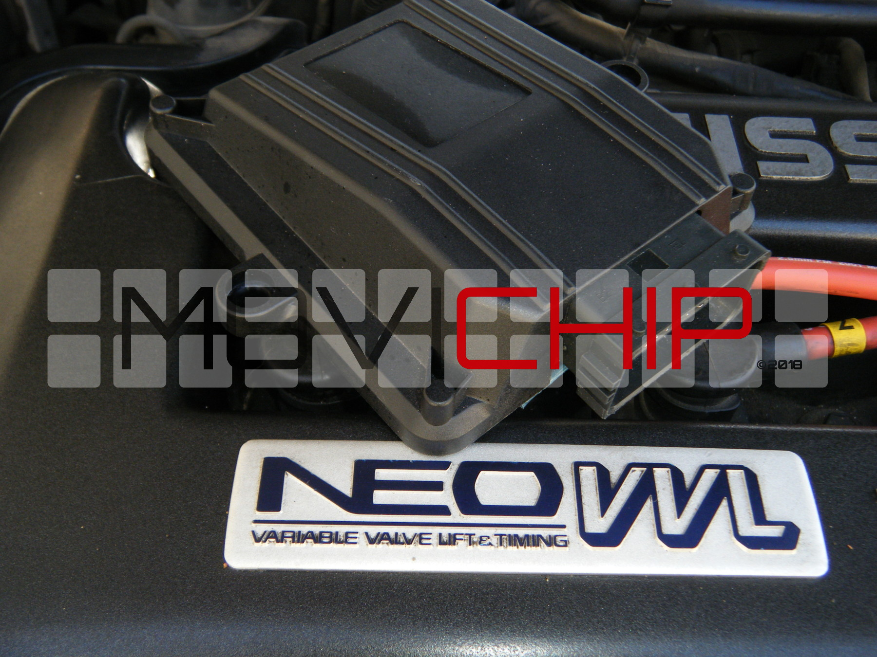 MoviChip CamSwitch Unit. Mounts in engine bay
